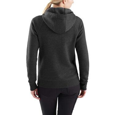 Carhartt Women's Force Delmont Zip-Front Hoodie