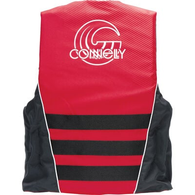 Connelly Promo 4-Belt Nylon Life Jacket - Red - 2X/3X