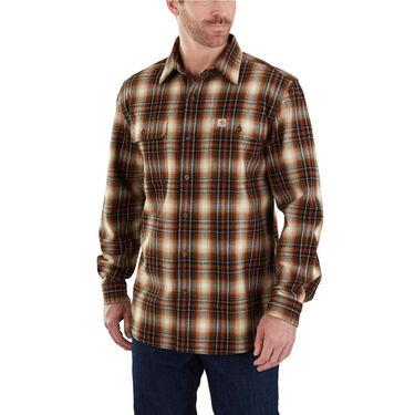 Carhartt Men's Hubbard Plaid Long-Sleeve Shirt