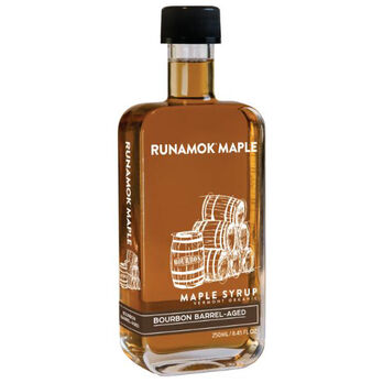 RUNAMOK Bourbon Barrel-Aged Organic Maple Syrup 250ml