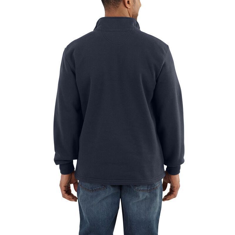 Carhartt Men's Rain Defender Paxton Heavyweight Quarter-Zip Sweatshirt image number 4