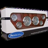Faria Kronos Stainless Steel 6-Gauge Set