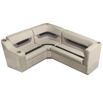"Toonmate Designer Pontoon Furniture 61"" Rear Seat Package"