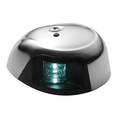 Attwood LED Deck-Mount Green Starboard Light With 2 NM Visibility
