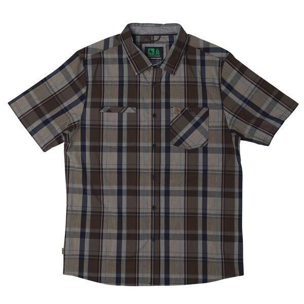 HippyTree Men's Burbank Short-Sleeve Woven Shirt