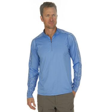 Nepallo Men's Trophy Sun Protection Quarter-Zip Pullover