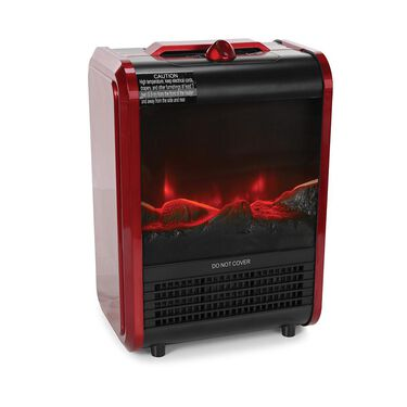 Comfort Zone Portable Fireplace Heater