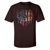 NRA Men's USA Flag Short-Sleeve Tee