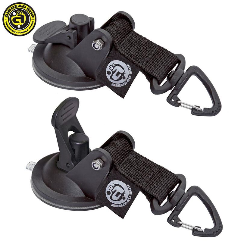 Airhead Stand-Up Paddleboard Suction Cup Tie-Downs, 2-Pack image number 1