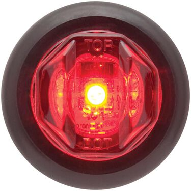 LED Uni-Lite; Light and Grommet; P2 Rated; 1 diode; Red
