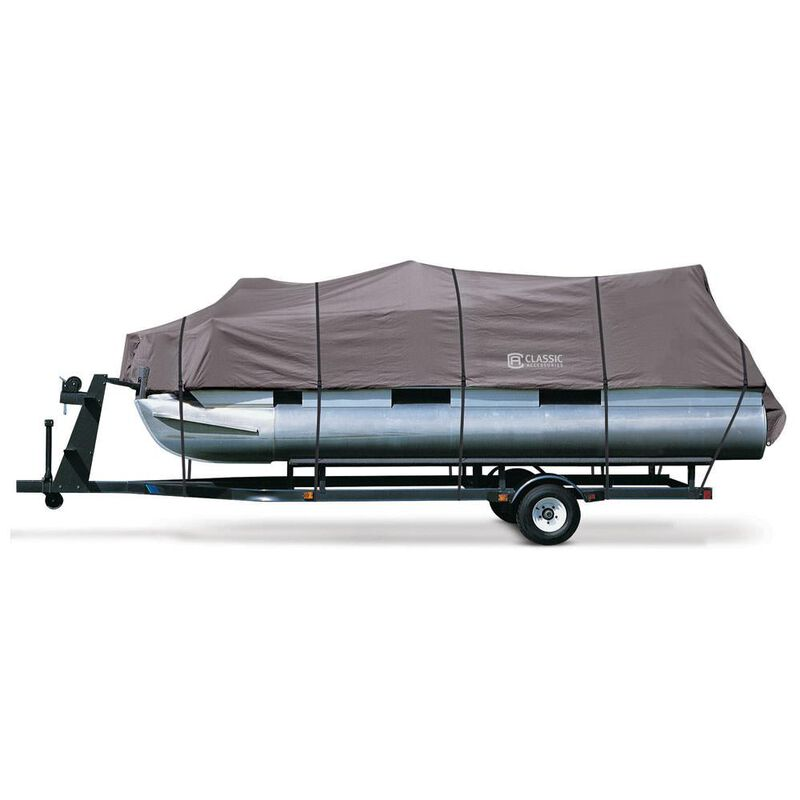 """StormPro Pontoon Boat Covers, Fits 17'-20' Pontoon Boats with Beam Width to 96"""" image number 1"""