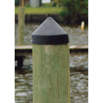 """Dockmate Conehead Cap for Round Pilings, 9"""" Dia."""