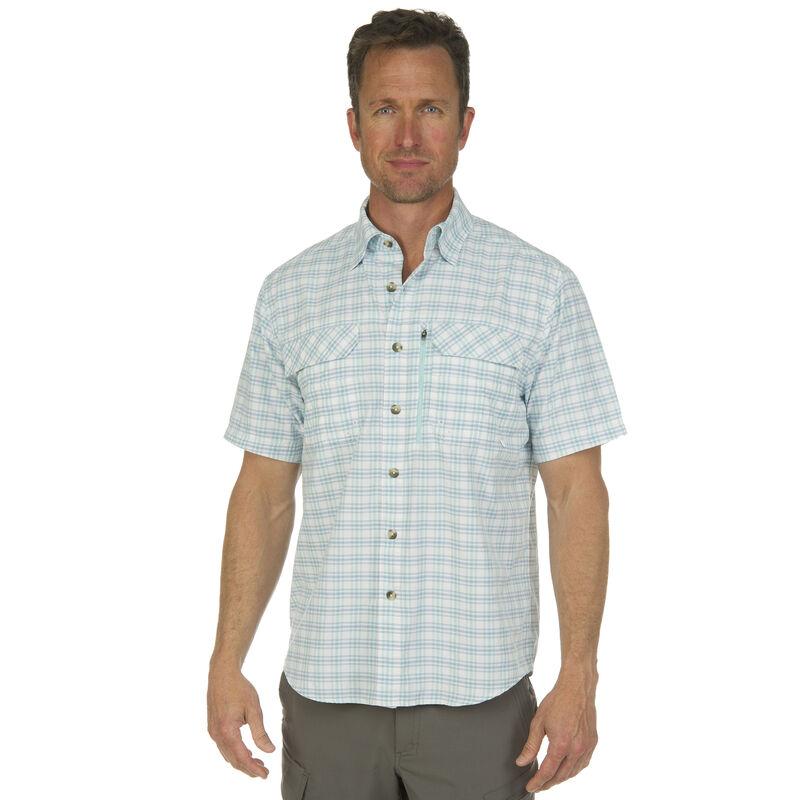 Nepallo Men's Trophy Quick-Dry Plaid Short-Sleeve Shirt image number 1
