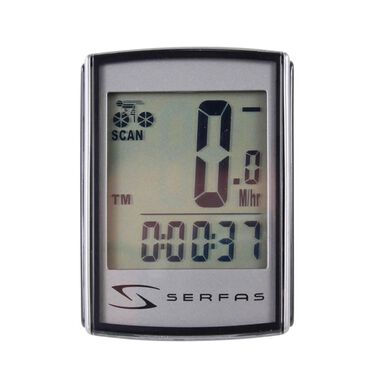 9-Function Level 1+ Backlit Wired Cycling Computer