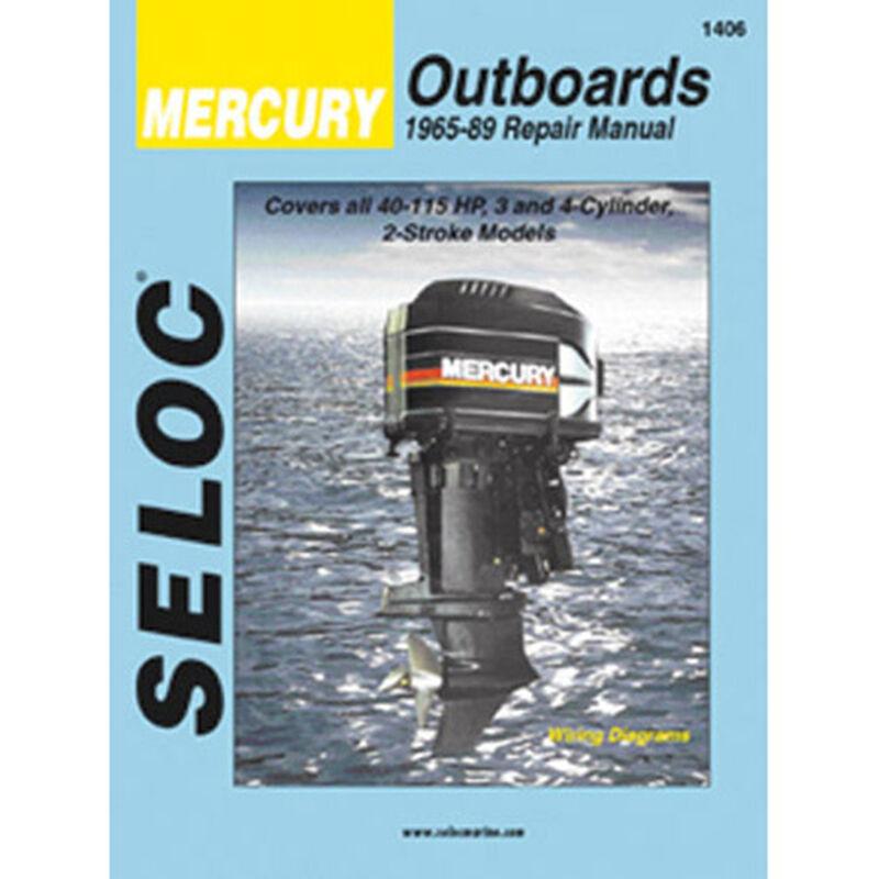 Sierra Manual For Mercury Engine Sierra Part #18-01406 image number 1