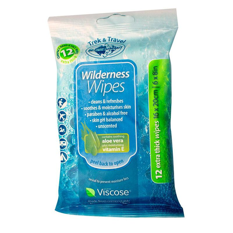 Sea to Summit Compact Wilderness Wipes image number 1