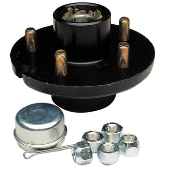 "Tie Down Replacement Trailer Wheel 5-Stud 1-1/16"" Hub Kit"
