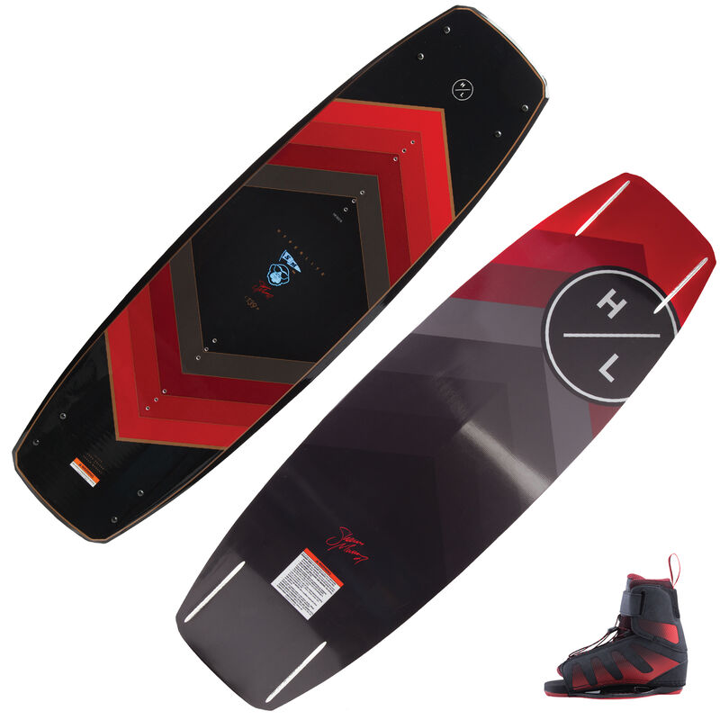 Hyperlite Murray Wakeboard With Session Bindings image number 1