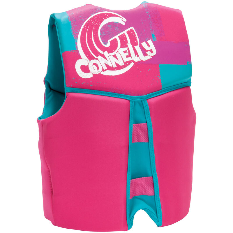 Connelly Girl's Youth Neoprene Life Jacket image number 2
