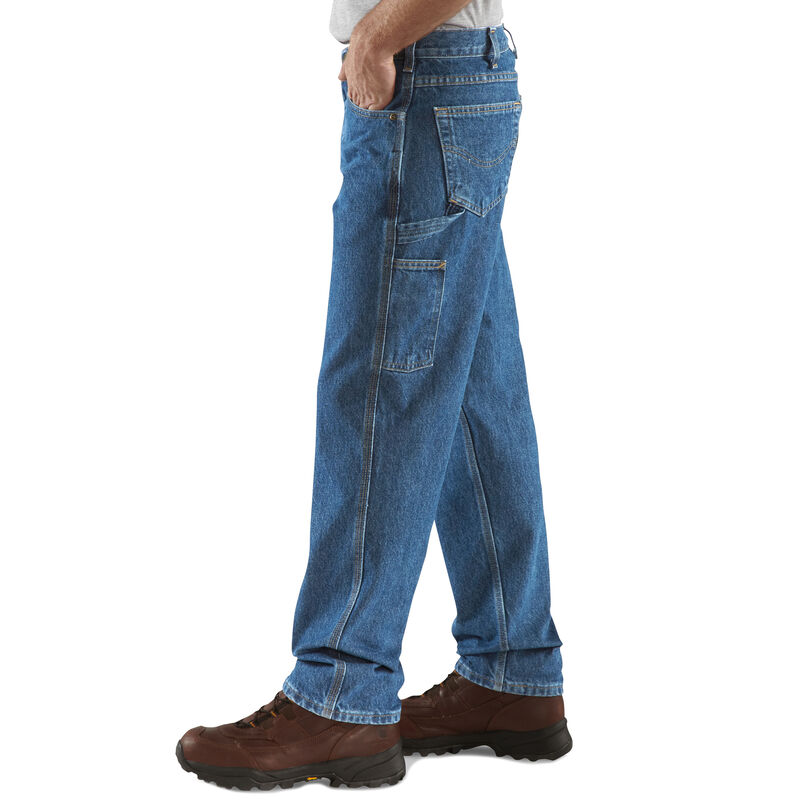 Carhartt Men's Relaxed-Fit Carpenter Jean image number 3