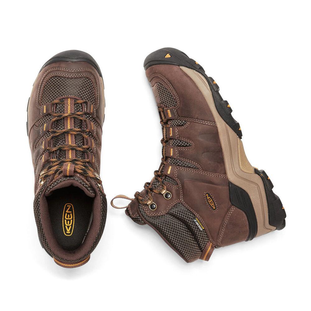2a3fef3c28b KEEN Men's Gypsum II Waterproof Mid Hiking Boot
