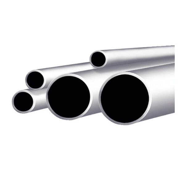 "Taco Stainless Steel Round Tube, 6'L x 1"" OD"