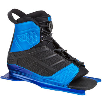 Radar Vector Front Waterski Binding With Feather Frame, Blue