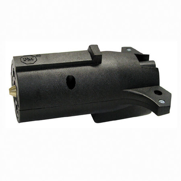 Round 7 to 5 Flat Plug Trailer Wiring Adapter
