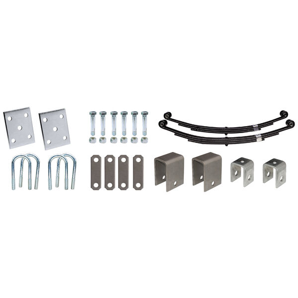 "Tie-Down 3"" Tandem Axle Installation Kit"