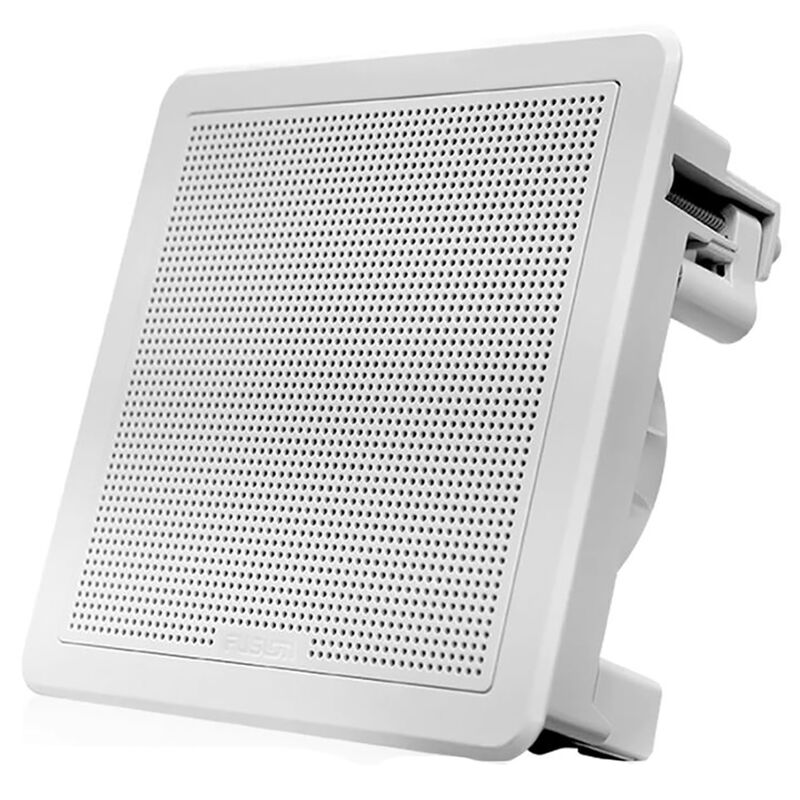"FUSION FM-F77RB FM Series 7.7"" Flush Mount Square Marine Speakers  image number 5"