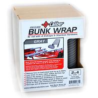 """Caliber Bunk Wrap Kit For 2"""" x 4"""" x 24' Bunks, Gray"""