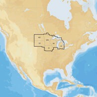 Navionics+ Cartography, North Regions