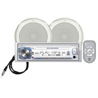 "Dual MCP105 USB/MP3/WMA Media Receiver With Two 6.5"" Speakers"