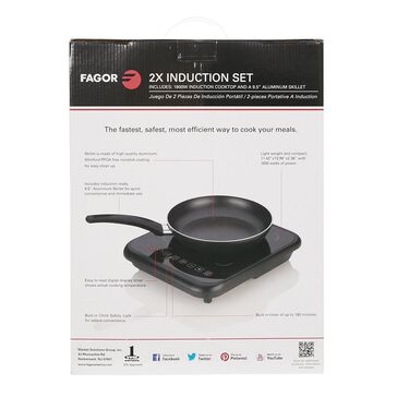 2x Induction Cooktop with Skillet