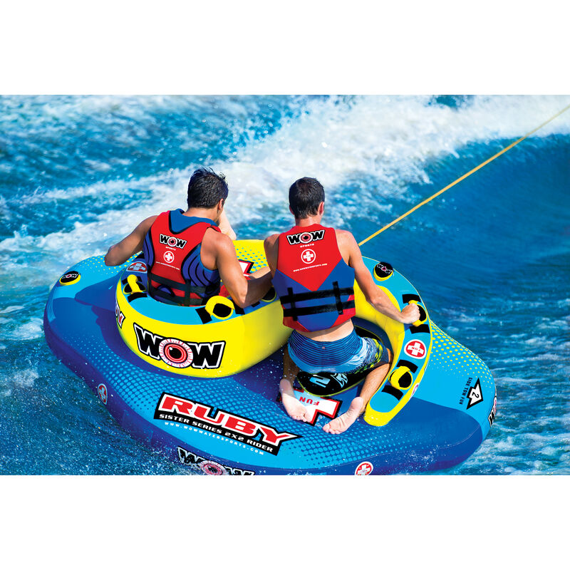 WOW Sister Ruby 2-Person Towable Tube image number 6