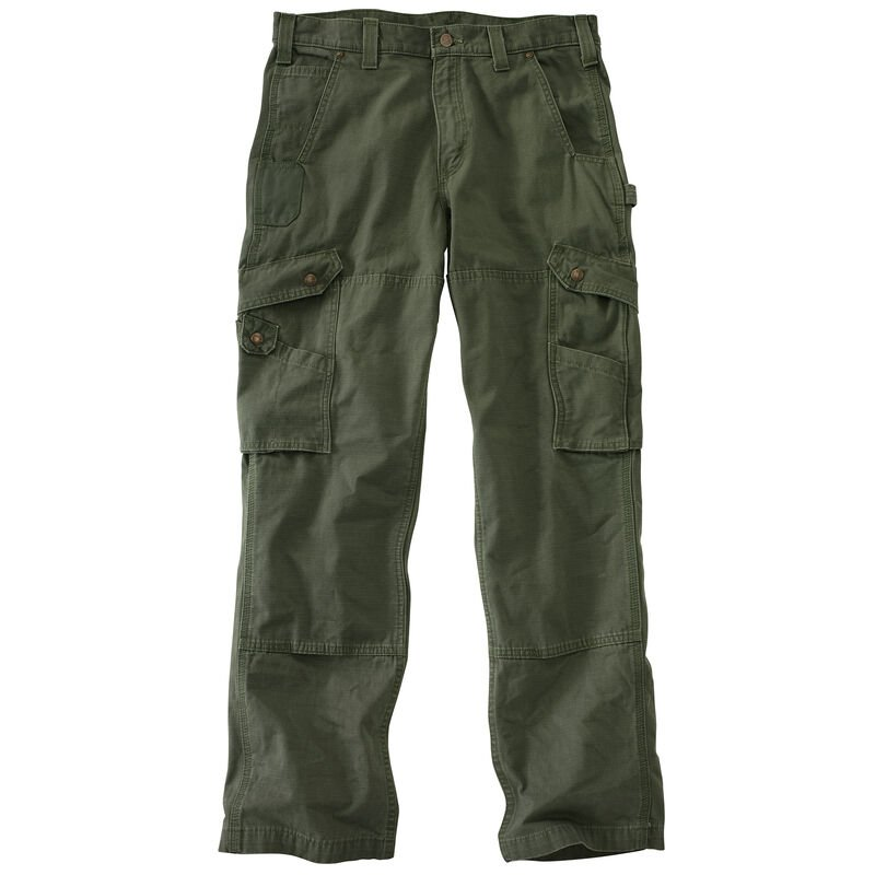 Carhartt Men's Relaxed Fit Double-Front Cargo Work Pant image number 12