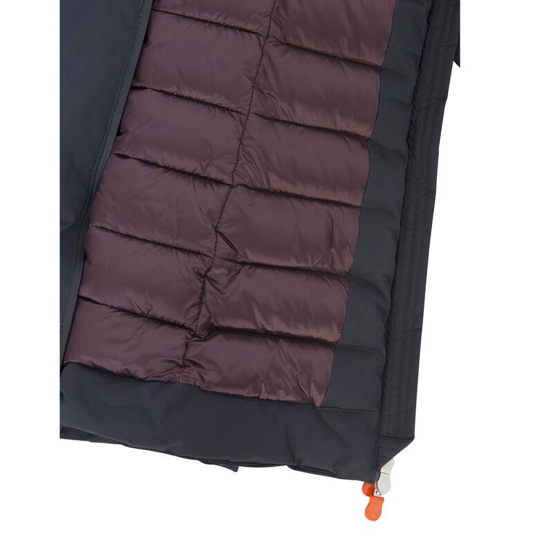 Save The Duck Women's Matt Baffled Long Jacket image number 4