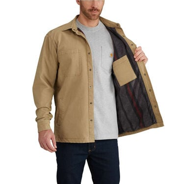 Carhartt Men's Rugged Flex Rigby Shirt Jacket