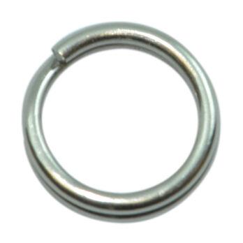 SPRO Stainless Steel Split Rings, Size 5, 25-lb., 5-Pack
