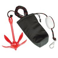 Coated Grapnel PWC Anchor System