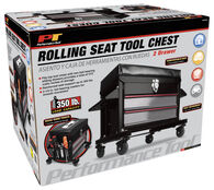 Performance Tool Rolling Seat Tool Chest