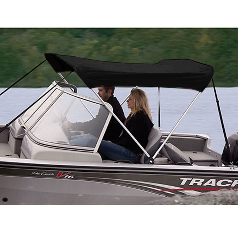 """Shademate Polyester 2-Bow Bimini Top, 5'6""""L x 42""""H, 61""""-66"""" Wide image number 9"""