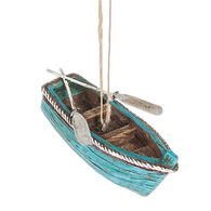 Midwest Rowboat Ornament