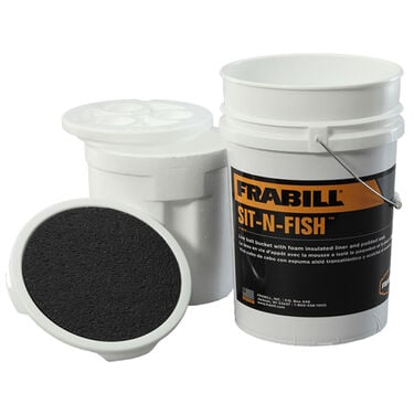 Frabill Sit-N-Fish Insulated Ice Bucket