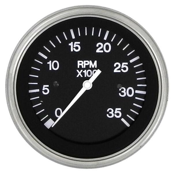"""Sierra Black Sterling 3"""" Diesel Tachometer"""