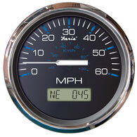 Faria Chesapeake SS GPS Speedometer With LCD, 60 MPH