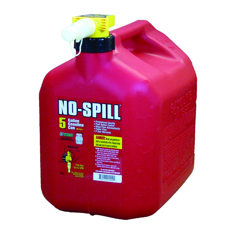 No-Spill Gasoline Cans - 5 Gallon Gasoline Can image number 1