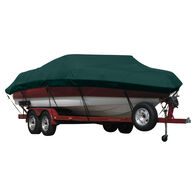 Exact Fit Covermate Sunbrella Boat Cover for Cobalt 282 282 Bowrider W/Bimini Cutouts Covers Ext Platform I/O. Forest Green