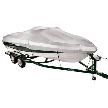 Covermate 150 Mooring and Storage Boat Cover for 14'-16' V-Hull, Tri-Hull Boat