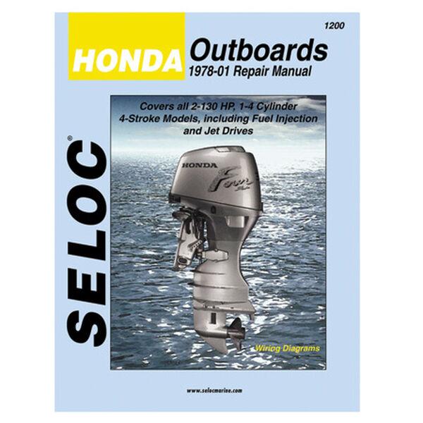 Seloc Marine Outboard Repair Manual for Honda '78 - '01